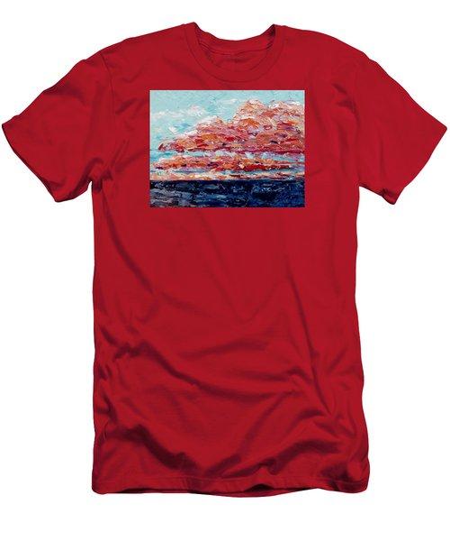 Happy Notes Men's T-Shirt (Athletic Fit)