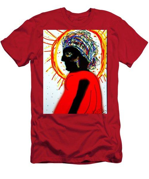 Headscarf Men's T-Shirt (Slim Fit) by Kathy Barney