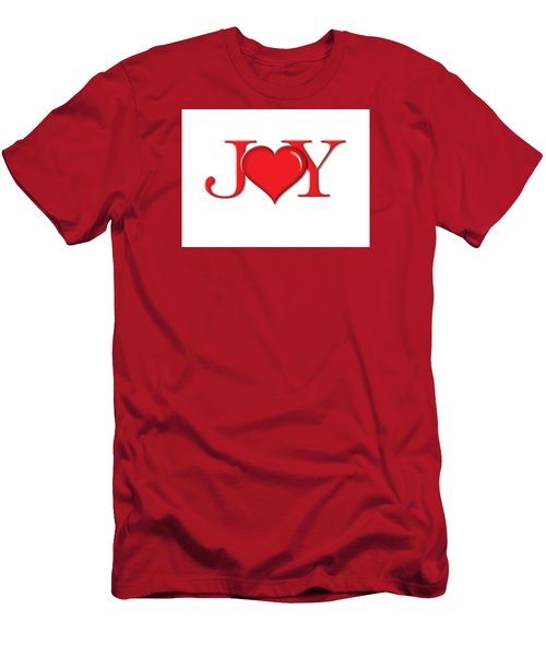 Heart Joy Men's T-Shirt (Athletic Fit)