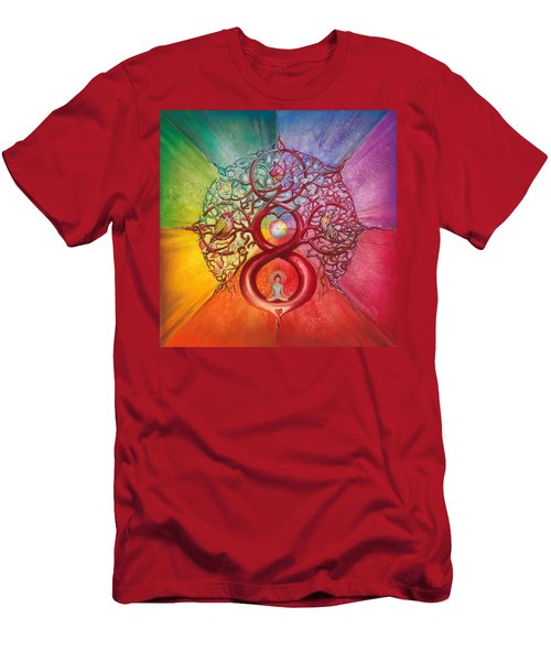 Heart Of Infinity Men's T-Shirt (Athletic Fit)
