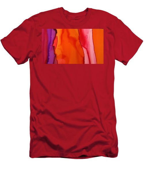 Heat Waves Men's T-Shirt (Athletic Fit)