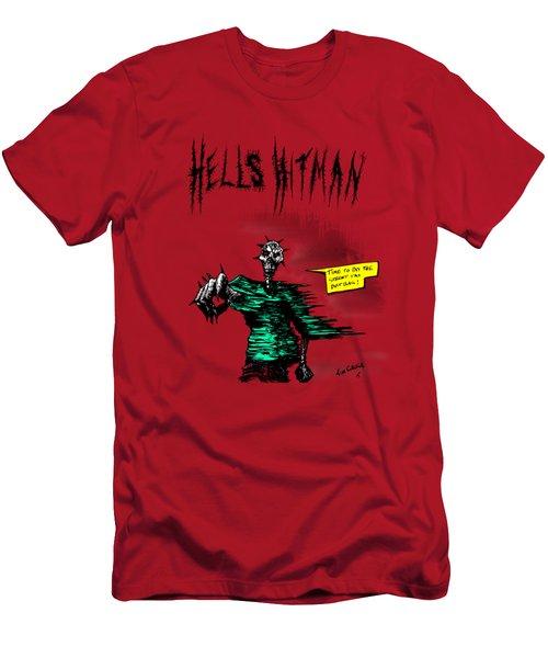 Hells Hitman Men's T-Shirt (Athletic Fit)
