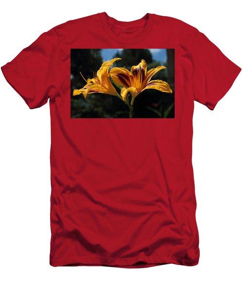 Hemerocallis Men's T-Shirt (Athletic Fit)