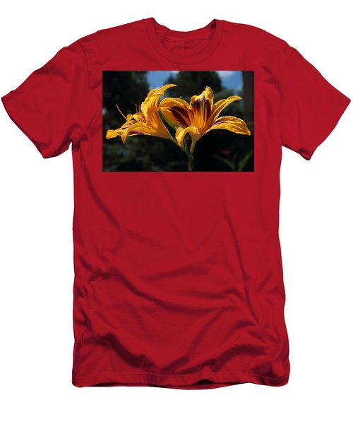 Hemerocallis Men's T-Shirt (Athletic Fit)