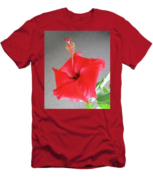 Hibiscus #2 Men's T-Shirt (Athletic Fit)