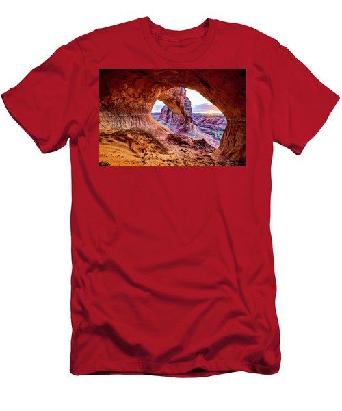 Hidden Alcove Men's T-Shirt (Slim Fit) by Chad Dutson