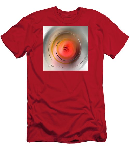 Men's T-Shirt (Slim Fit) featuring the digital art High Speed Rotation by Leo Symon