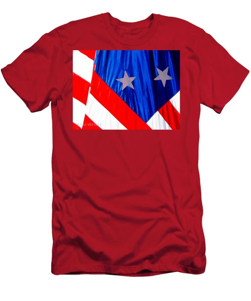 Historical American Flag Men's T-Shirt (Athletic Fit)