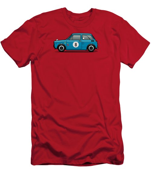 Honda N600 Blue Kei Race Car Men's T-Shirt (Athletic Fit)