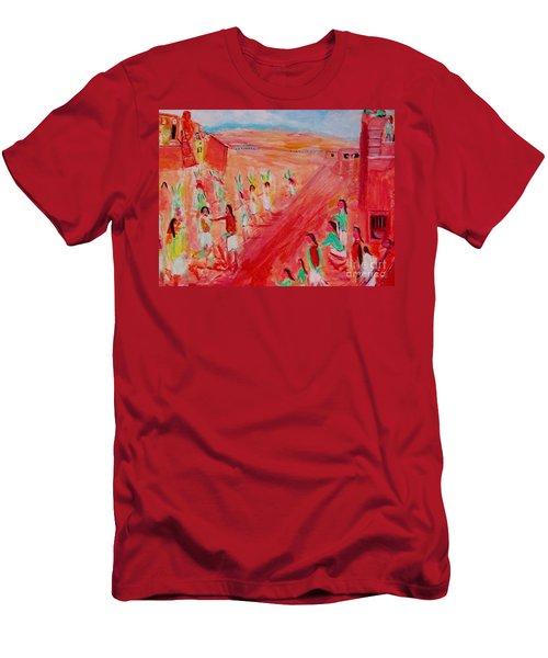 Hopi Indian Ritual Men's T-Shirt (Athletic Fit)