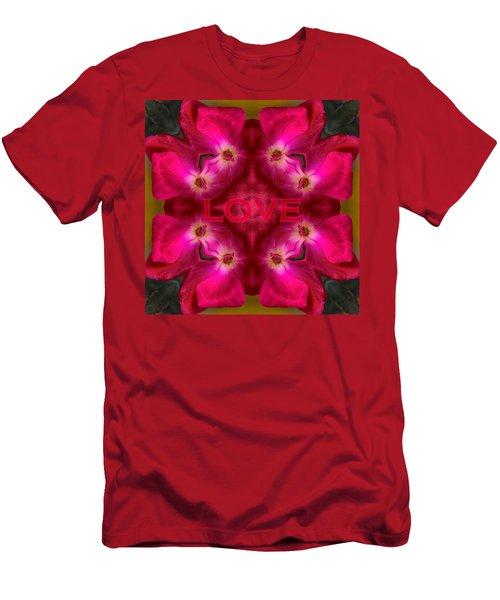 Hot Love Men's T-Shirt (Athletic Fit)