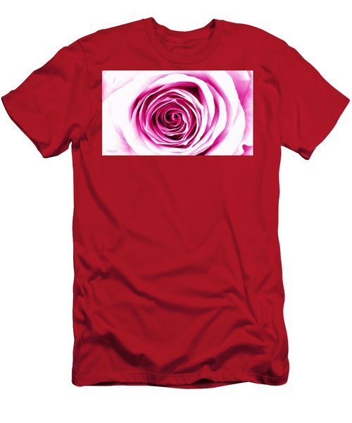 Hypnotic Pink Men's T-Shirt (Athletic Fit)
