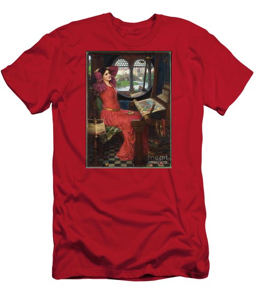 I Am Half-sick Of Shadows, Said The Lady Of Shalott Men's T-Shirt (Athletic Fit)