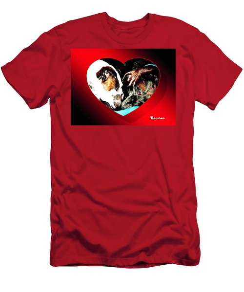 I Got You Babe Men's T-Shirt (Slim Fit) by Sadie Reneau