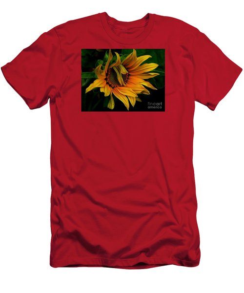 Men's T-Shirt (Slim Fit) featuring the photograph I Need A Comb by Elfriede Fulda