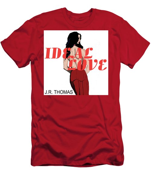 Men's T-Shirt (Athletic Fit) featuring the digital art Ideal Love Cover by Jayvon Thomas