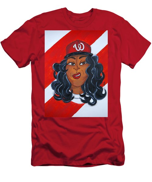 Men's T-Shirt (Athletic Fit) featuring the painting I'm So Dc by Aliya Michelle