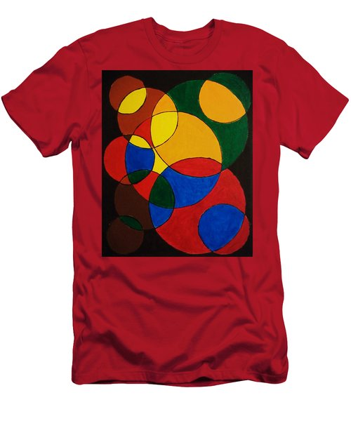 Imperfect Circles Men's T-Shirt (Athletic Fit)