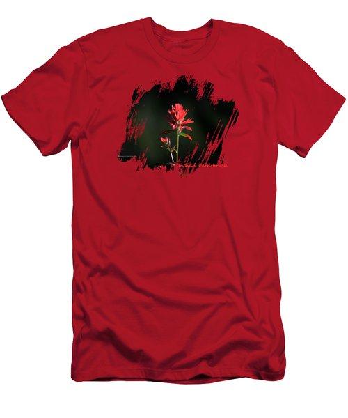 Indian Paintbrush 3 Men's T-Shirt (Athletic Fit)