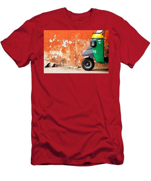 Indian Tuk Tuk Men's T-Shirt (Athletic Fit)