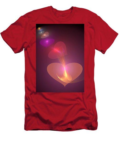 Men's T-Shirt (Slim Fit) featuring the digital art Infinite Love by Svetlana Nikolova