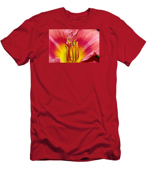 Inside A Daylily Men's T-Shirt (Athletic Fit)