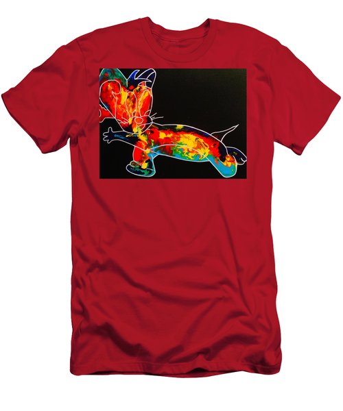 Inside Fire Men's T-Shirt (Athletic Fit)