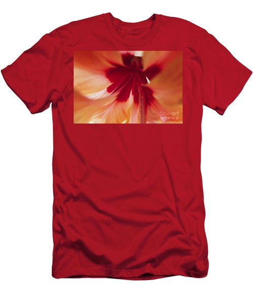 Inside Hibiscus Men's T-Shirt (Athletic Fit)