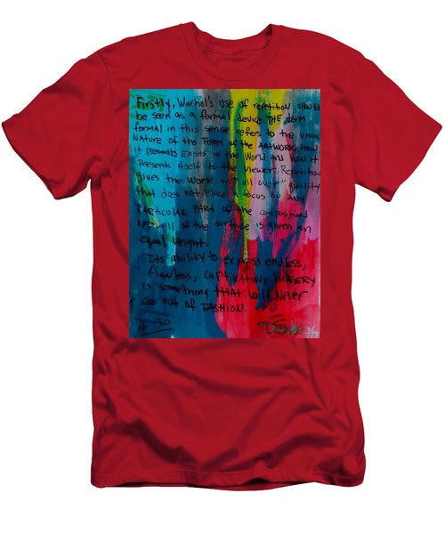 Inspiration From Warhol Men's T-Shirt (Athletic Fit)