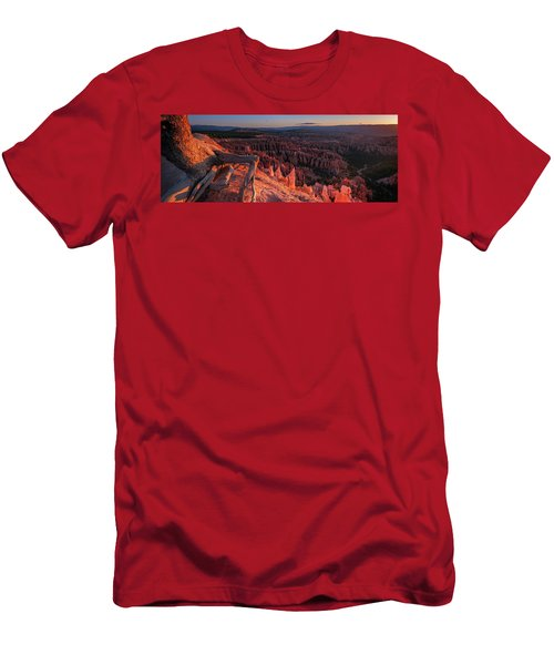 Men's T-Shirt (Athletic Fit) featuring the photograph Inspiration Point by Edgars Erglis