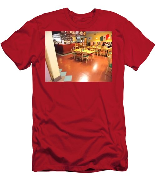Interior Restaurant Men's T-Shirt (Athletic Fit)