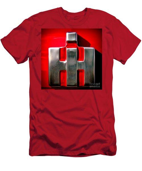International Harvester Logo Nameplate Men's T-Shirt (Athletic Fit)