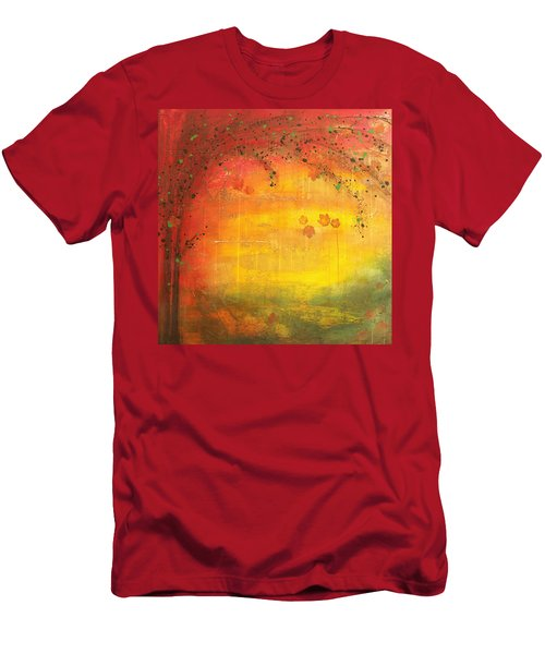 Into Fall - Tree Series Men's T-Shirt (Athletic Fit)