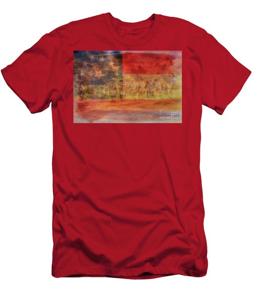 Is Mississippi Ready For This Day Gettysburg Men's T-Shirt (Athletic Fit)