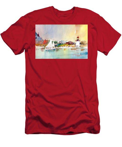 Island Light Men's T-Shirt (Athletic Fit)