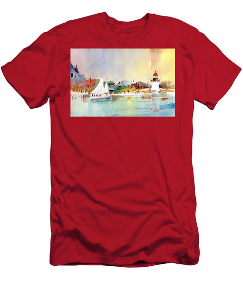 Island Light Men's T-Shirt (Athletic Fit)
