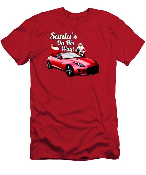 Santas Secret Sleigh Revealed Men's T-Shirt (Athletic Fit)