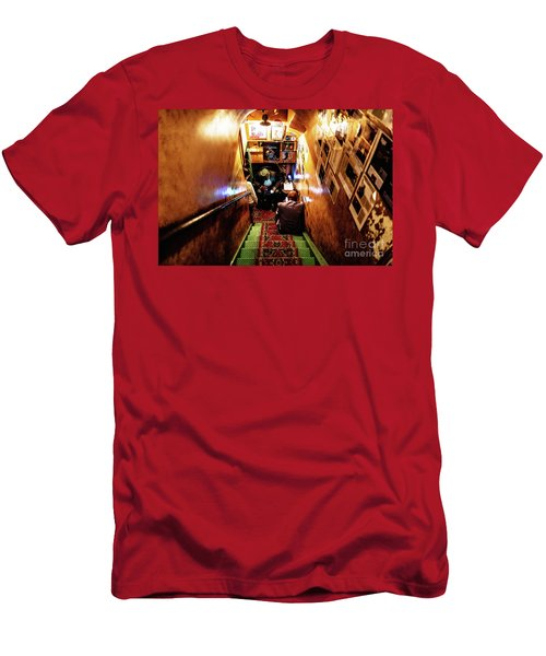 Men's T-Shirt (Athletic Fit) featuring the photograph Jazz Club by Miles Whittingham