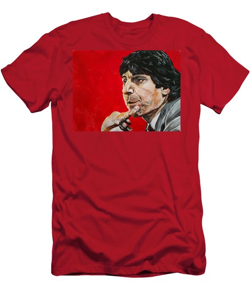 Men's T-Shirt (Athletic Fit) featuring the painting Jimmy V by Joel Tesch