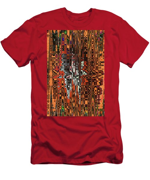 Jojo Abstract Men's T-Shirt (Slim Fit) by Tom Janca