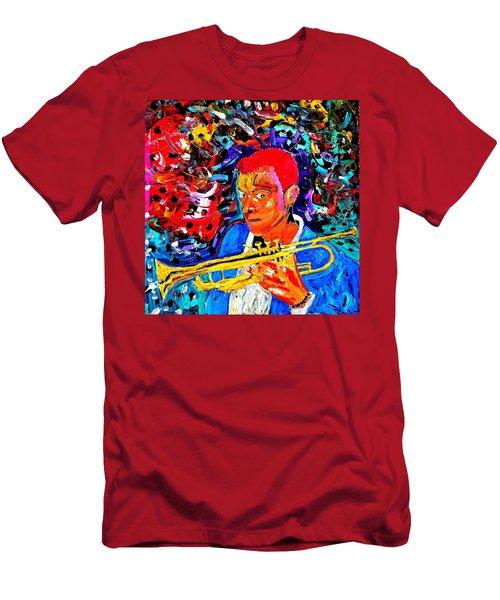 Joshua Bluegreen-cripps Men's T-Shirt (Athletic Fit)