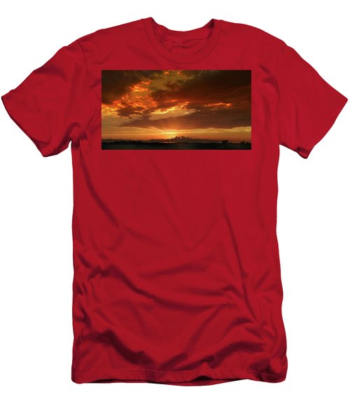 June Sunset Men's T-Shirt (Athletic Fit)