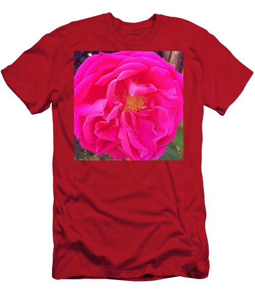 Just A Rose...#floral #flowers #pink Men's T-Shirt (Athletic Fit)