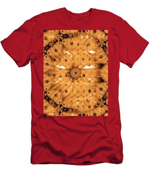Men's T-Shirt (Slim Fit) featuring the digital art Juxtapose by Ron Bissett