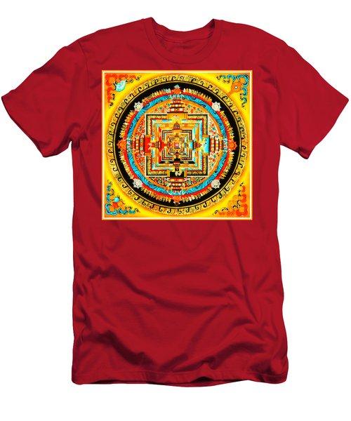 Kalachakra Mandala Men's T-Shirt (Athletic Fit)