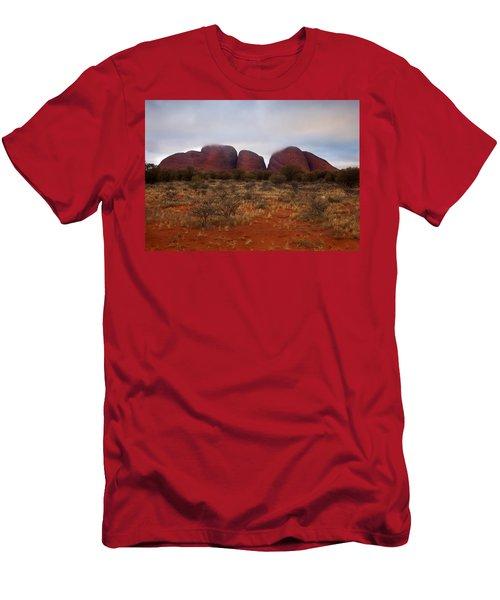 Kata Tjuta Evening Glow Men's T-Shirt (Athletic Fit)