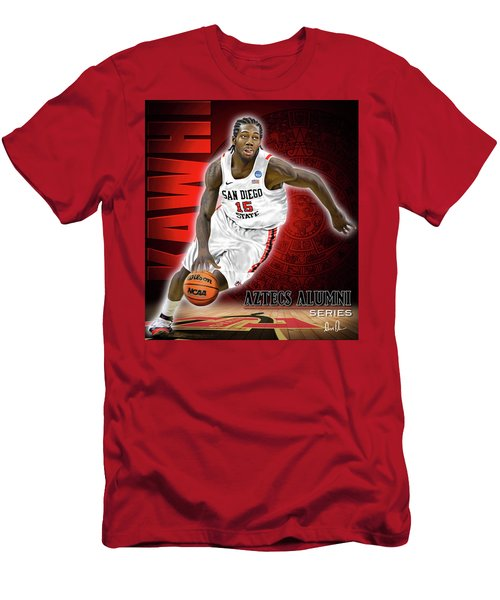 Men's T-Shirt (Slim Fit) featuring the photograph Kawhi by Don Olea