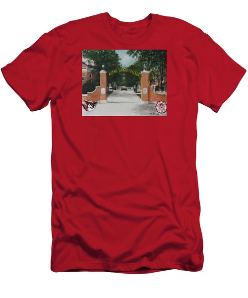 Keene State College Men's T-Shirt (Slim Fit) by Jack Skinner