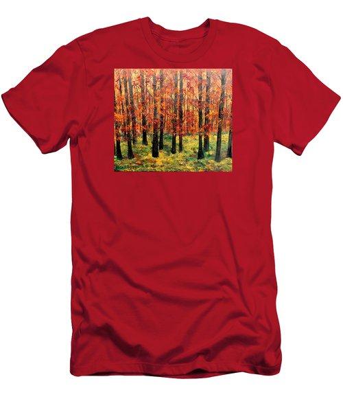 Keeping Score Men's T-Shirt (Slim Fit) by Lisa Aerts