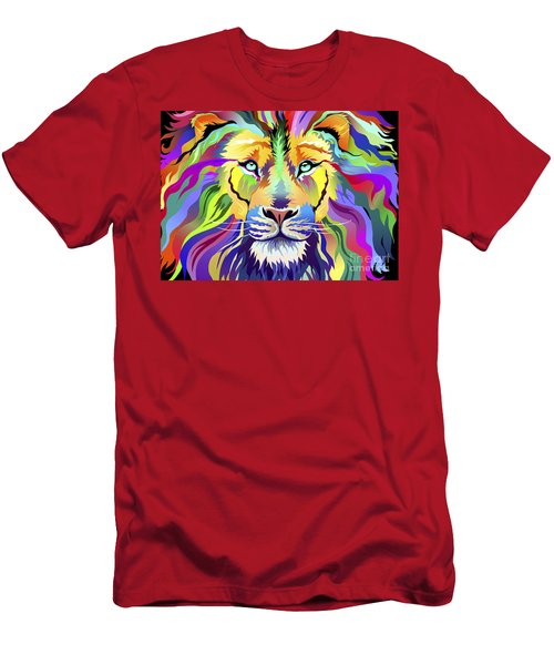 King Of Techinicolor Variant 1 Men's T-Shirt (Athletic Fit)